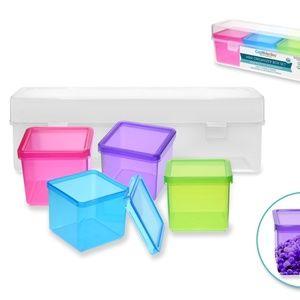 Mini Organizer Box Set 4pc in Lrg Box 24x6x5.2 cm